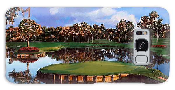 Sawgrass 17th Hole Galaxy Case by Tim Gilliland