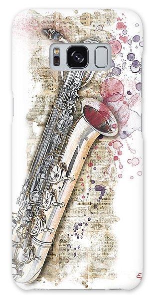 Saxophone 01 - Elena Yakubovich Galaxy Case
