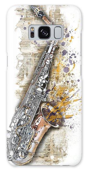 Saxophone 02 - Elena Yakubovich Galaxy Case