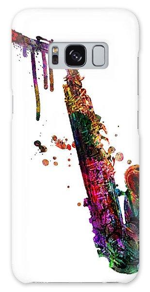 Saxophone Galaxy Case - Saxophone 2 by Mark Ashkenazi