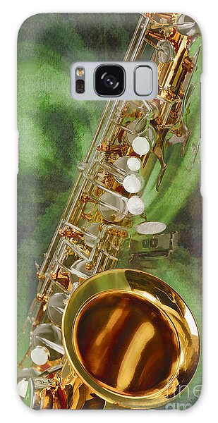 Saxophone Instrument Painting Music  In Color 3253.02 Galaxy Case