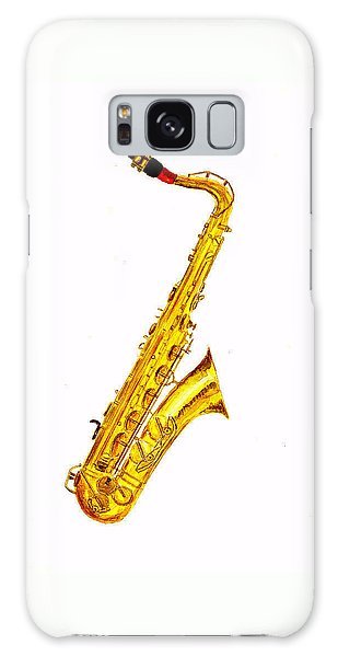 Saxophone Galaxy Case by Michael Vigliotti