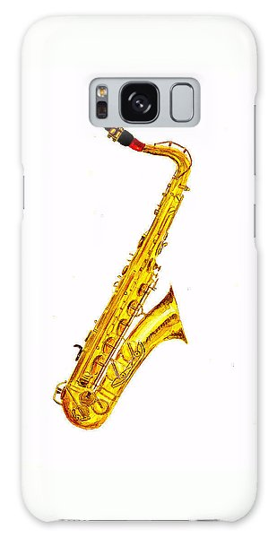 Saxophone Galaxy S8 Case - Saxophone by Michael Vigliotti