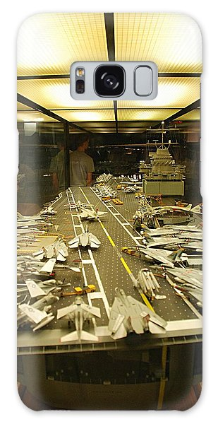 Scale Model Aircraft Carrier Galaxy Case