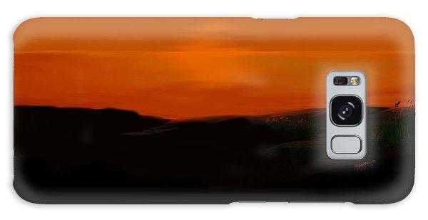 Scalett's Reflection Galaxy Case