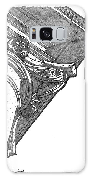 Scamozzi Column Capital Galaxy Case by Calvin Durham