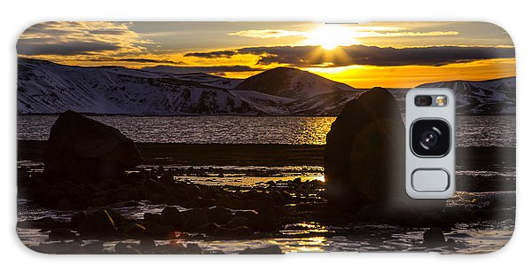 Scandinavian Lake  Galaxy Case