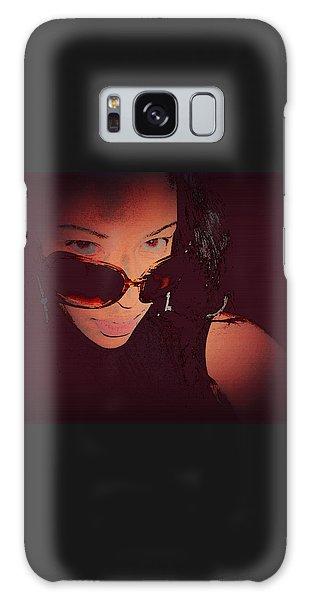 Scanned - Ai P. Nilson - Digital Art - Self Portrait Galaxy Case