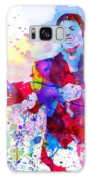 Montana Galaxy Case - Scar Watercolor by Naxart Studio