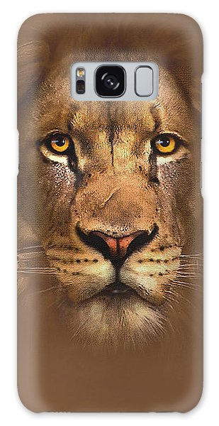 Lion Galaxy Case - Scarface Lion by Robert Foster