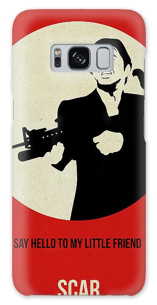 Montana Galaxy Case - Scarface Poster by Naxart Studio