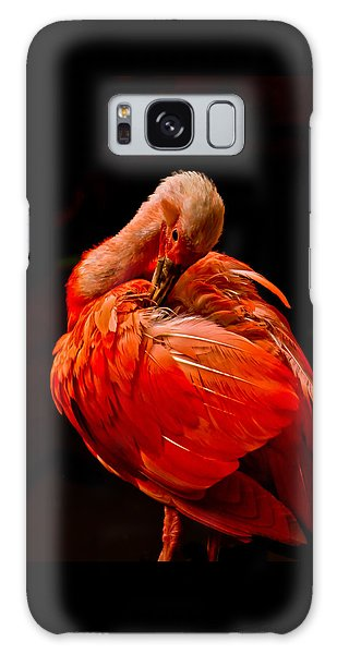 Scarlet Ibis Galaxy Case