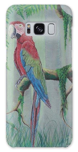 Scarlet Macaw Galaxy Case