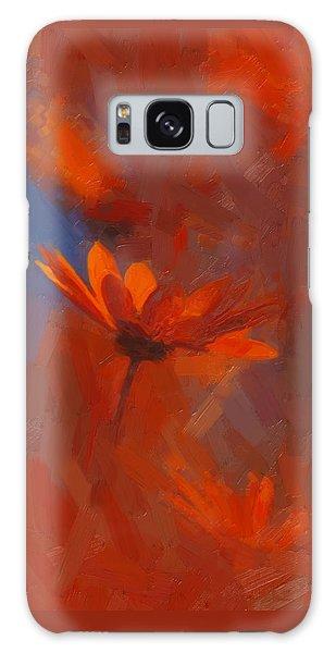 Scarlet Petals  Galaxy Case