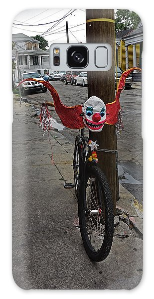 Scary Clown Bike In New Orleans Galaxy Case
