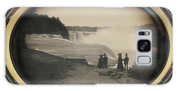 Waterfall Galaxy Case - Scene At Niagara Falls Platt D. Babbitt by Litz Collection