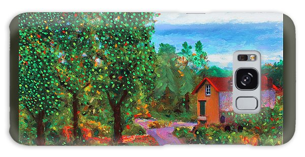 Galaxy Case featuring the painting Scene From Giverny by Deborah Boyd