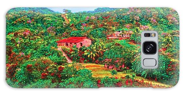 Scene From Mahogony Bay Honduras Galaxy Case