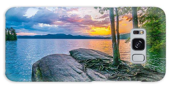 Scenery Around Lake Jocasse Gorge Galaxy Case