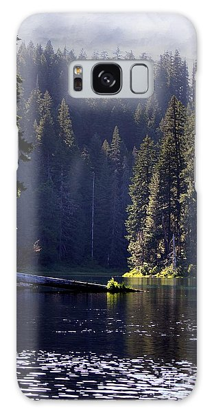 Scenic Clear Lake Galaxy Case by Erica Hanel
