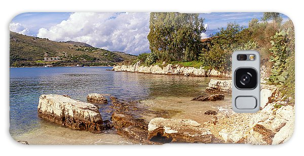 Scenic Kassiopi On Corfu Horizontal Galaxy Case