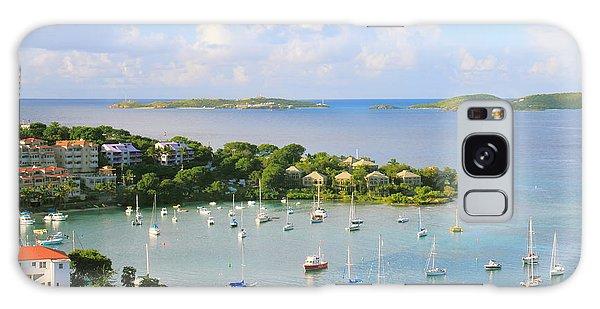 Scenic Overlook Of Cruz Bay St. John Usvi Galaxy Case