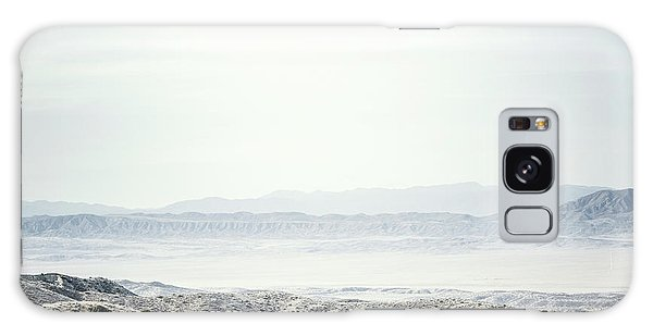 Fence Post Galaxy Case - Scenic View Of The  Carrizo Plain by Ron Koeberer