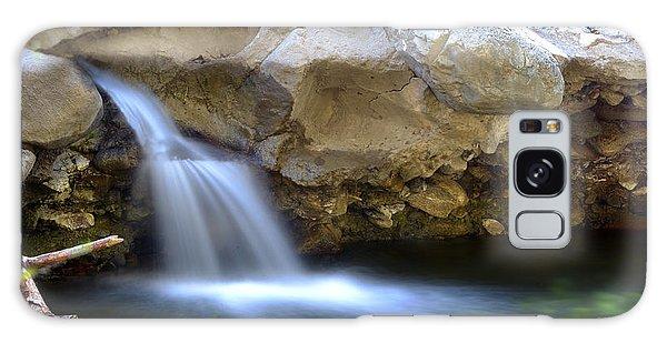 Scenic Waterfall  Galaxy Case