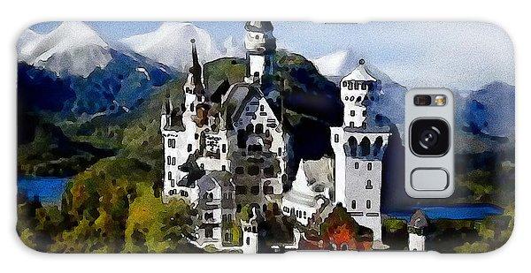 Schengen Castle Galaxy Case by Jann Paxton