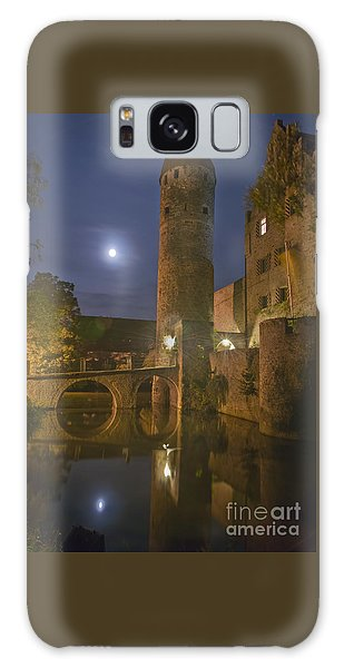 Schloss Sommersdorf By Moonlight Galaxy Case