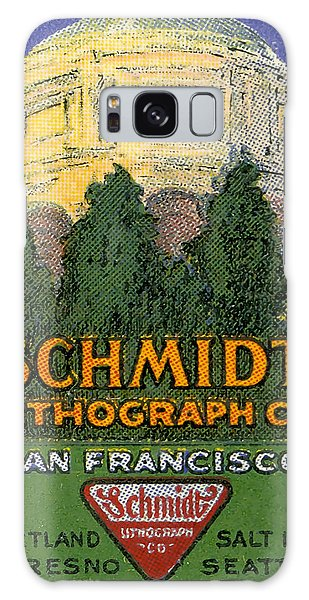 Schmidt Lithograph  Galaxy Case by Cathy Anderson
