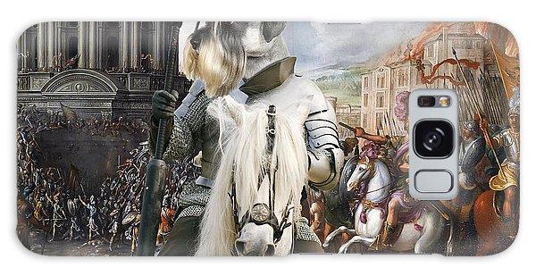 Schnauzer Art - A Siege The Sack Of Rome   Galaxy Case