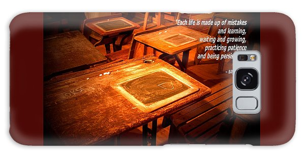 School Desk Billy Graham Quote 2 Galaxy Case