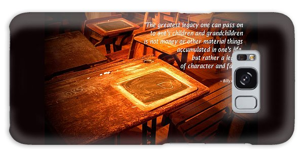 School Desk Billy Graham Quote Galaxy Case