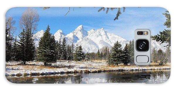 Schwabacher Landing - Grand Teton National Park Galaxy Case