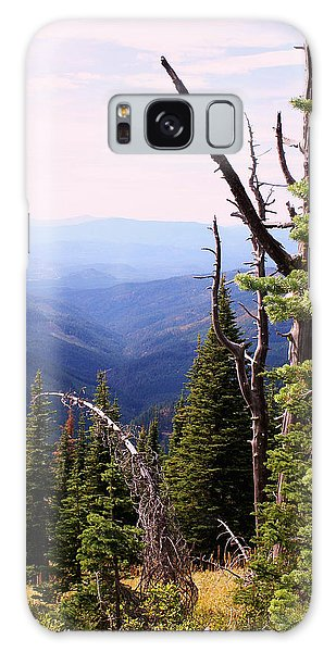 Schweitzer Mountain 1 Galaxy Case by Ellen Tully