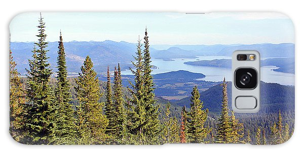 Schweitzer Mountain 7 Galaxy Case by Ellen Tully