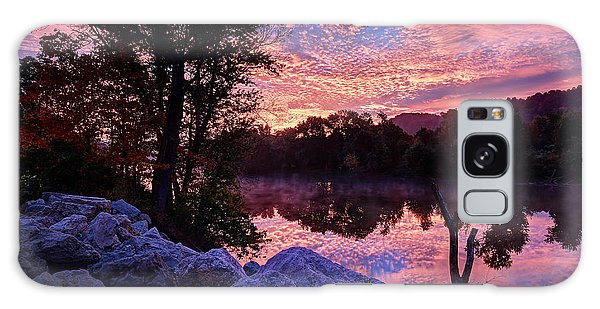 Scioto Sunrise Galaxy Case