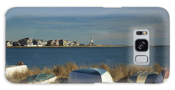 Scituate Harbor Boats Galaxy Case