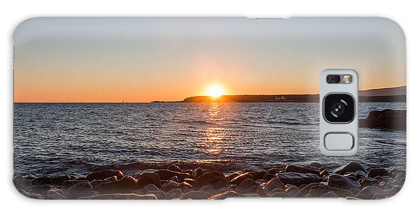 Scoodic Park Sunset  Galaxy Case by Trace Kittrell