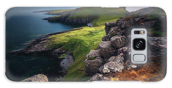 Long Exposure Galaxy Case - Scotland - Neist Point by Jean Claude Castor