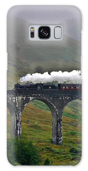 Scotland Steam Train And Bridge Galaxy Case