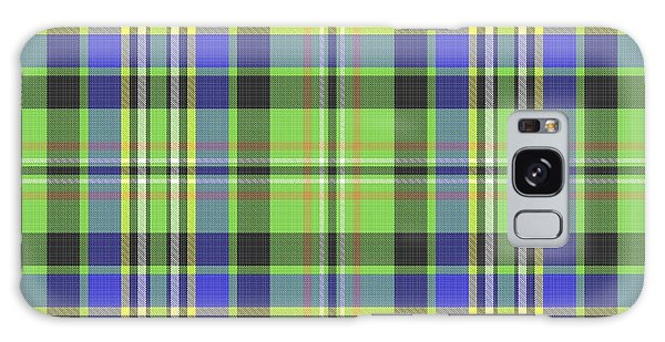 Scott Ancient Green Tartan Galaxy Case