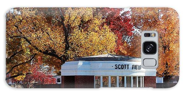Scott Field  Old Main Gate  Galaxy Case by John Freidenberg