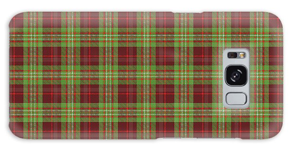 Scott Hunting Green Tartan Variant Galaxy Case