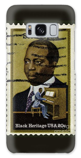 Scott Joplin Stamp Galaxy Case