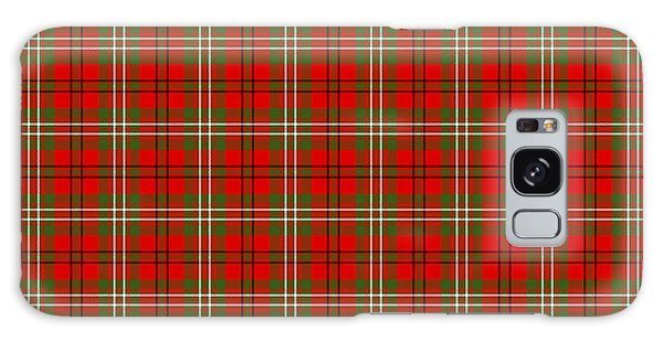 Scott Red Tartan Variant Galaxy Case