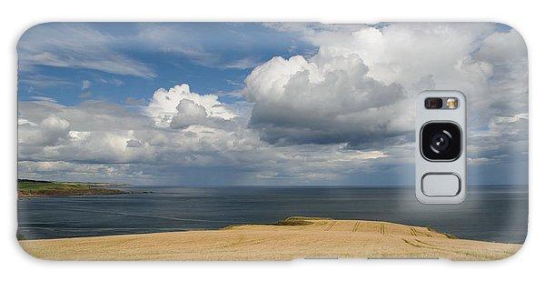 Scottish Coastal Wheatfield Galaxy Case by Jeremy Voisey