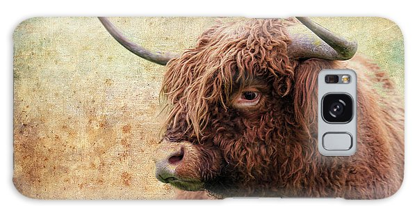 Scottish Highland Steer Galaxy Case