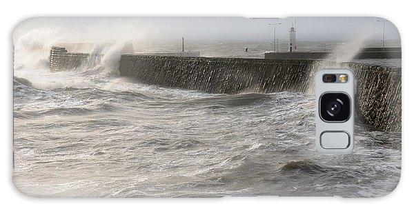 Scottish Sea Storm Galaxy Case by Jeremy Voisey
